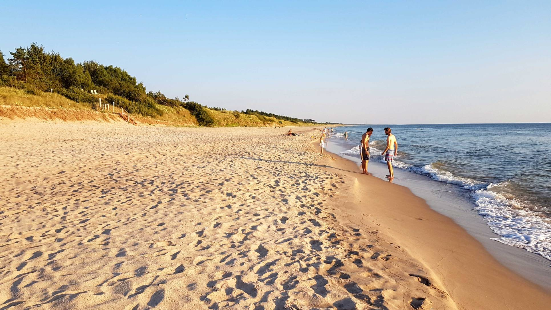 One of the best beaches in Latvia